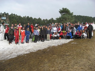 Set ajuntaments de la comarca tornen a compartir l'organització d'una Esquiada Jove