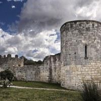 Muralla romana al Conjunt Monumental