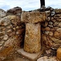Mil·liari romà al Pla dels Albats